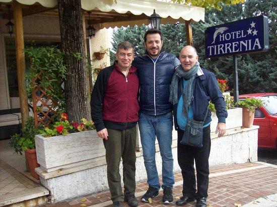 Hotel Tirrenia: Mauro con gli Amici
