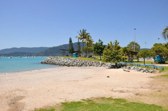 Airlie Beach YHA: пляж