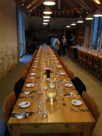 The Barn dining table