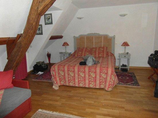 Le Clos de la Vouge : chambre