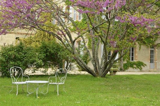 Château de Degrés : détail du parc