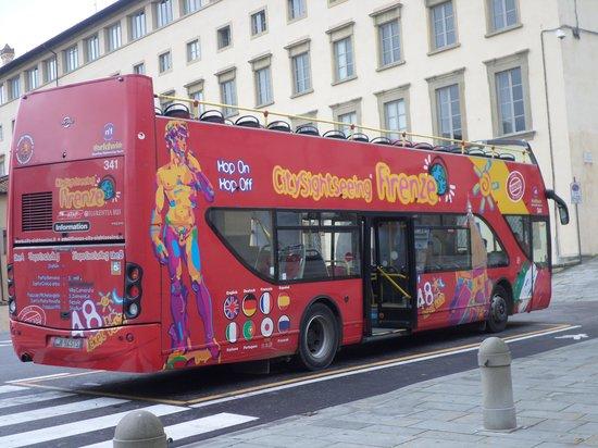 Hotel Laurus al Duomo: Hop on- Hop off bus (korte en lange tour)
