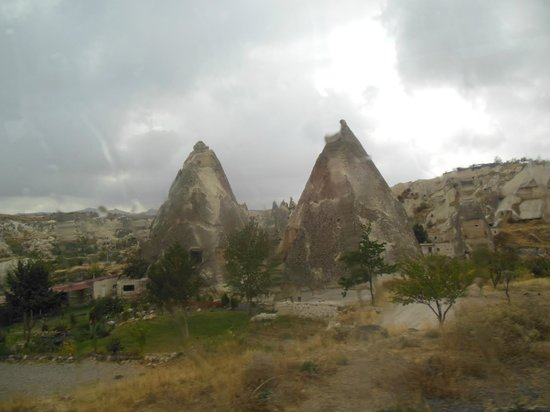 Kelebek Special Cave Hotel: View from outside the hotel