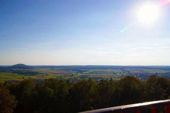 Wolfsschanke: Panoramablick vom Ofenbergturm