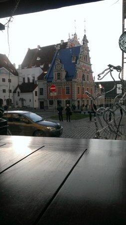 Piejura: Вид из окна ресторана / The view from the restaurant window