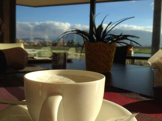 Valle Di Assisi, BW Premier Collection : Bellissima colazione ..e che vista