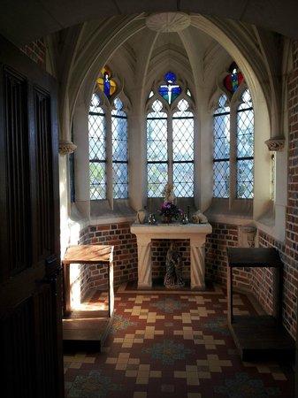 Chateau du Moulin Conservatoire de la Fraise : La chapelle