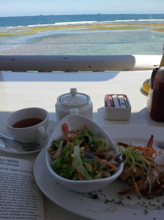 Sea Cliff Hotel: Kazambezi Cafe