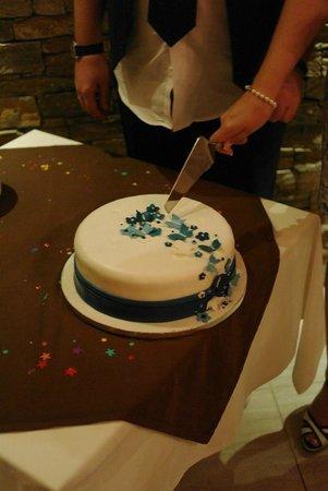 Terrazza Restaurant: wedding cake