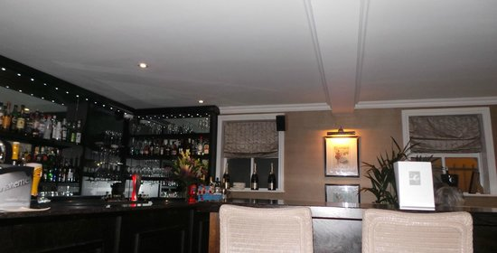 La Boheme: The bar.