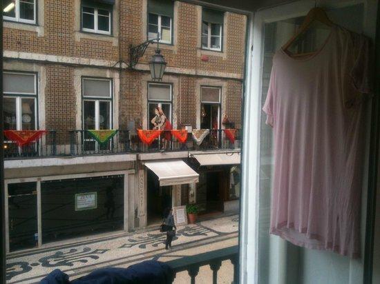 City Center Hostel: balcony