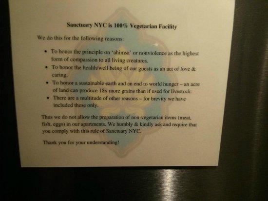 Sanctuary NYC Retreats: Kitchen rules