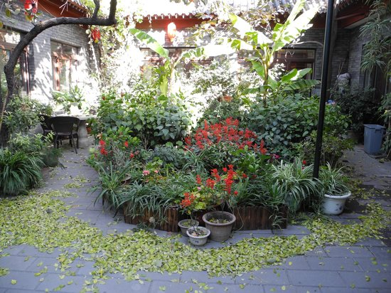 Red Lantern House: The courtyard