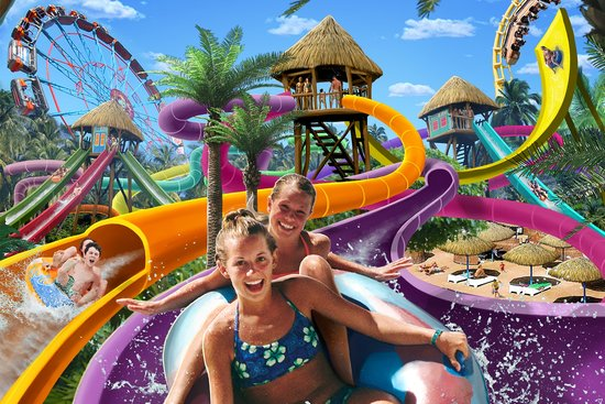 Hellendoorn, The Netherlands: Aquaventura slidepark
