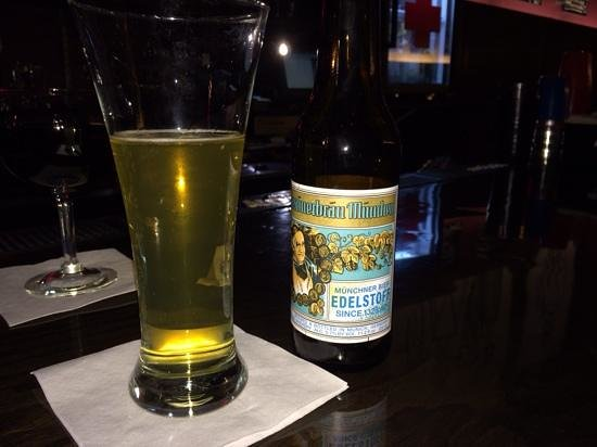Empire Little Bar Bistro: Augustine Edelstoff- great to find this beer in US