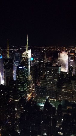 Kimpton Muse Hotel: view from the empire state