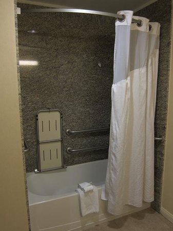 Holiday Inn Express - Los Angeles Downtown West: Spacious bathroom