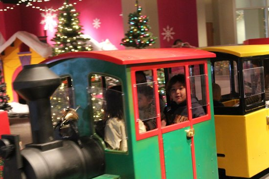 mcwane science center see the christmas train attraction - The Christmas Train