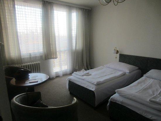A&O Prag Rhea: Спальня