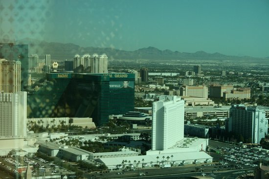 Four Seasons Hotel Las Vegas : Udsigt til The Strip