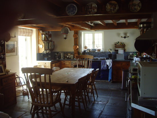 Coombe Keynes, UK: Breakfast Room
