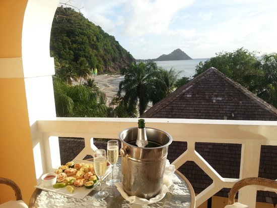 BodyHoliday Saint Lucia : View from our ocean view room!