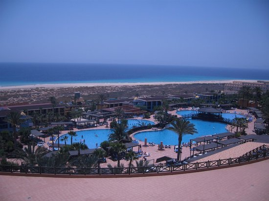 Occidental Jandia Playa: Blick von unserem Balkon (Zimmer 418)