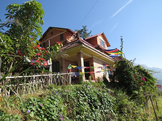 Shivapuri Heights Cottages: The beautiful main house