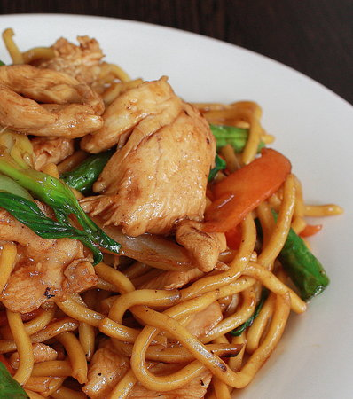 Bamboo Box: Hokkien Noodles with Chicken