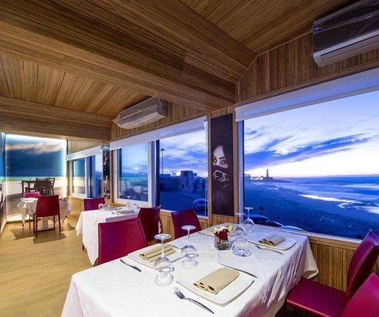 restaurant de la plage rabat restaurant avis num ro de. Black Bedroom Furniture Sets. Home Design Ideas