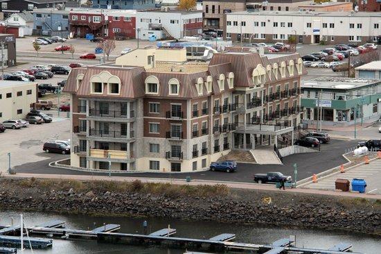 Sept Iles, Canada: Vue sur la baie de Sept-Iles