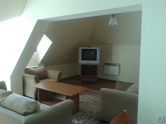 Hotel Alex: sitting area
