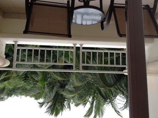 Sheraton Haikou Hotel: 部屋のバルコニーです。