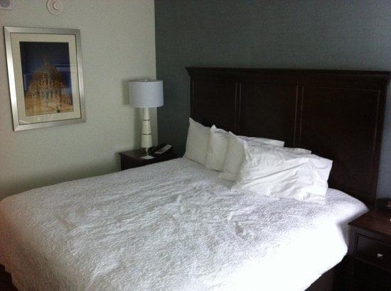 Hampton Inn Washington, D.C./White House : Il letto comodissimo!