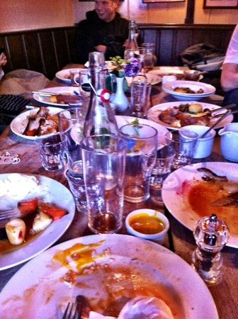 Ring O' Bells: Aftermath of a great Sunday lunch