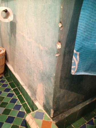 Jnane Mogador : salle de bain
