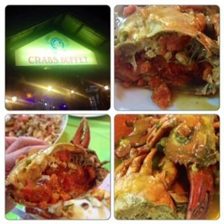 Glamour Resto N Caterer : crabs buffet