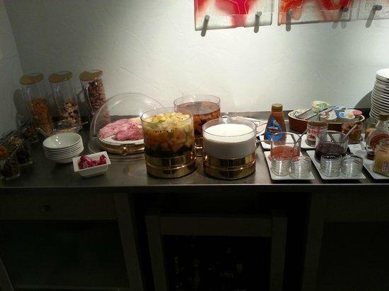 Auberge de Nicey : Petit-déjeuner