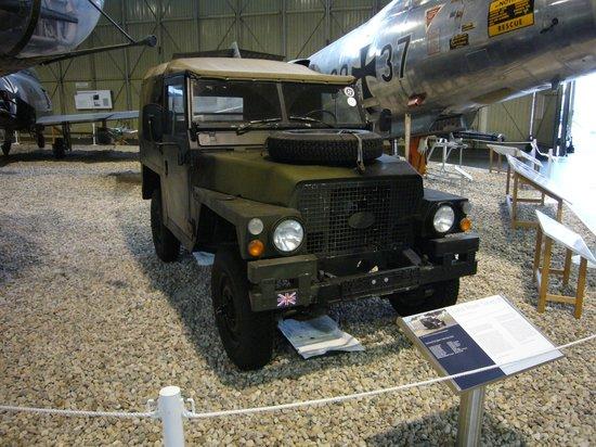 Military History Museum of Bundeswehr: Land Rover fra den engelske Berlin Brigade