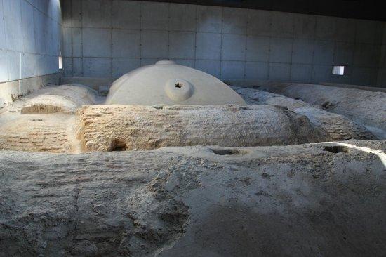 Banos Arabes de la Marzuela: Cubierta original de los Baños Árabes