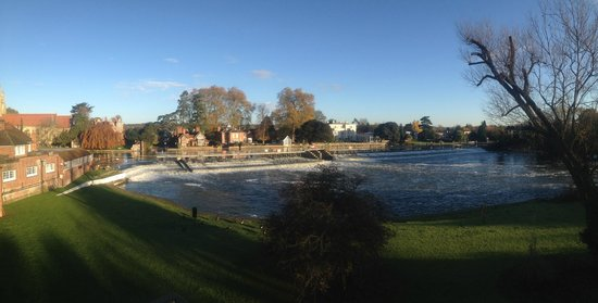 Macdonald Compleat Angler: View from Room