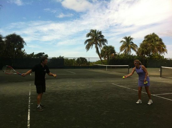 1 hour lesson with Island Tennis, Marco Island, FL