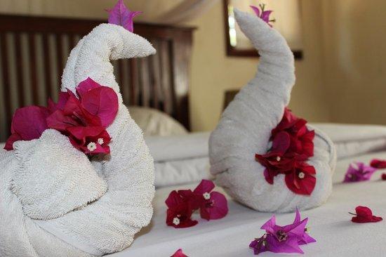 Moivaro Lodge : Petite attention aux jeunes mariés