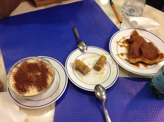 La Grece: Desserts!!