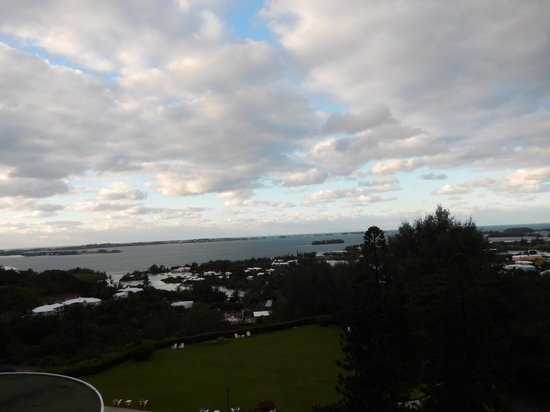 Fairmont Southampton: view from balcony