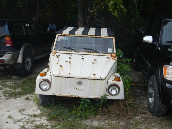 Pirates Point Resort : Car rental choices were limited!!!!!!!!!!! (humor)
