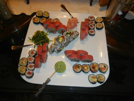 Pirates Point Resort : If you knew sushi like I knew sushi. Just great.