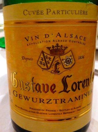 Brasserie Floderer : Гевюрцтраминер