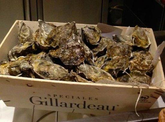 Brasserie Floderer : Устрицы