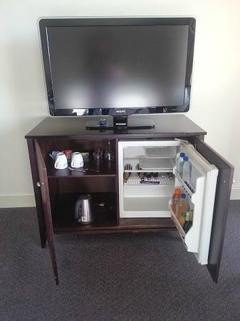 Adelaide Rockford: Bar fridge